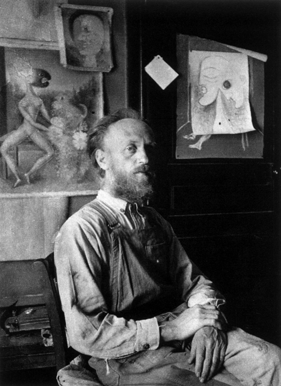 Victor Brauner, 1940, Unknown photographer, Gellu Naum Foundation, Copyright Not Evaluated