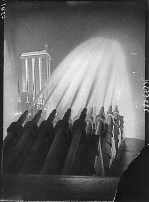 The fountains at the Trocadéro and the Nazi pavilion, 1937, photographer unknown, Bibliothèque nationale de France, No Copyright - Other Known Legal Restrictions