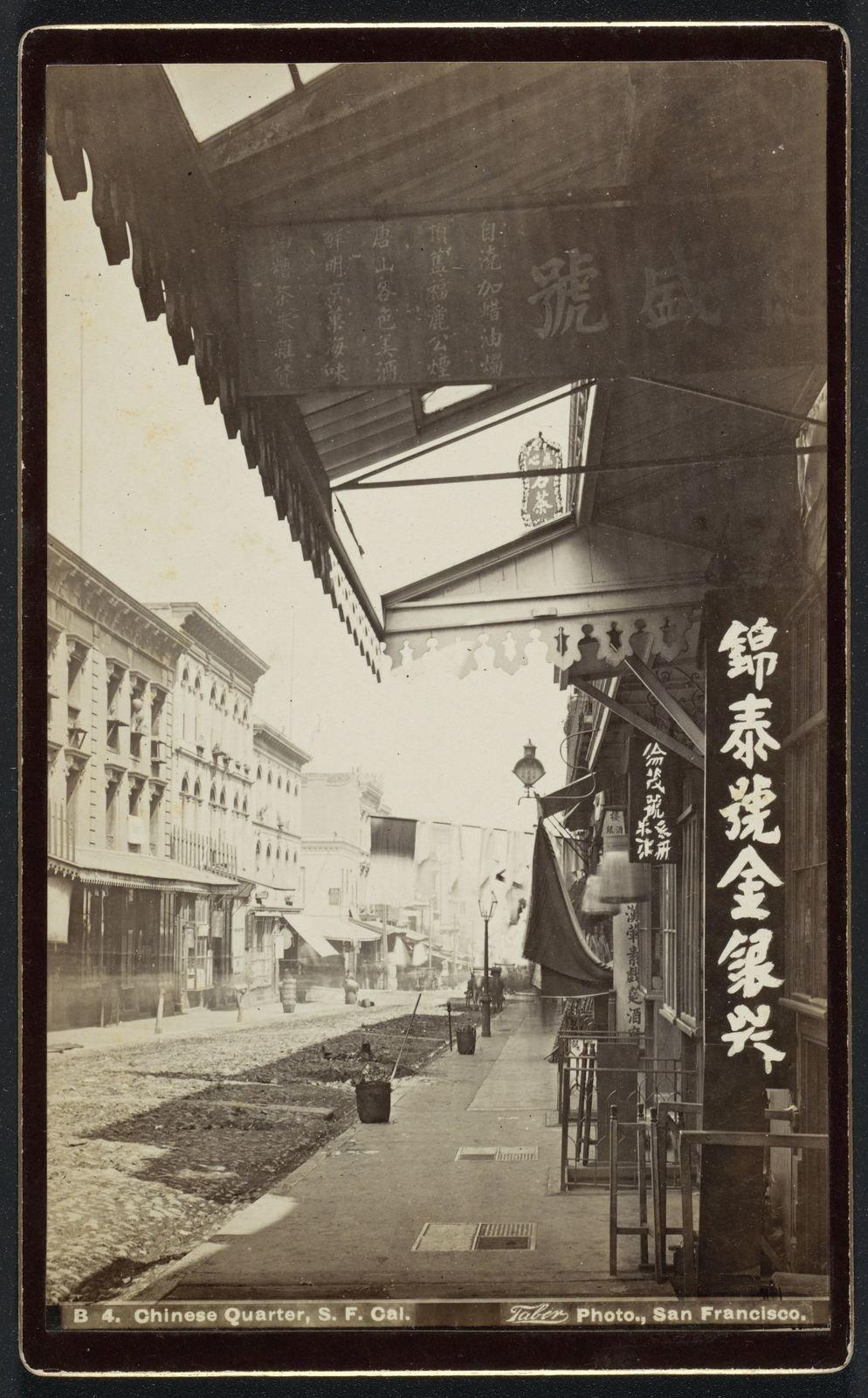 Street in Chinatown, San Francisco, 1890 , Isaiah West Taber,  Rijksmuseum, Public Domain Mark