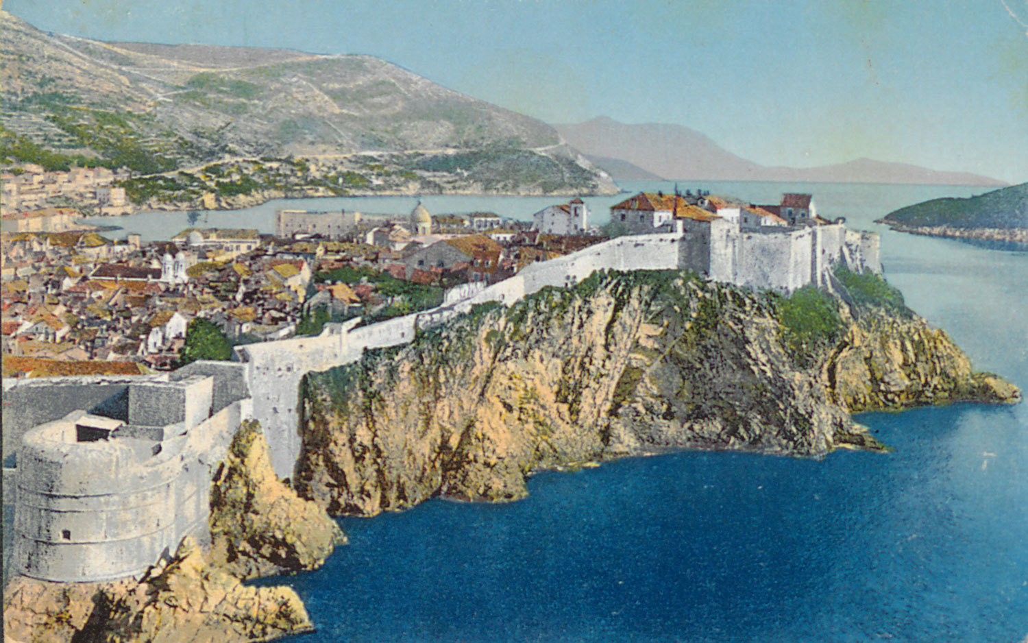 View of Dubrovnik, 1914, Unknown, National and University Library in Zagreb, Public Domain Mark