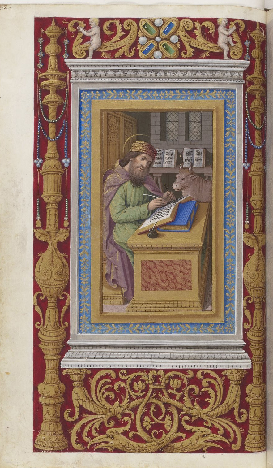 Book of hours of Frederic of Aragon f86, Tours, ca. 1501-1502, French National Library, Manuscripts, 10532 Parchment, 388 p., 255 x 170 mm, In Copyright
