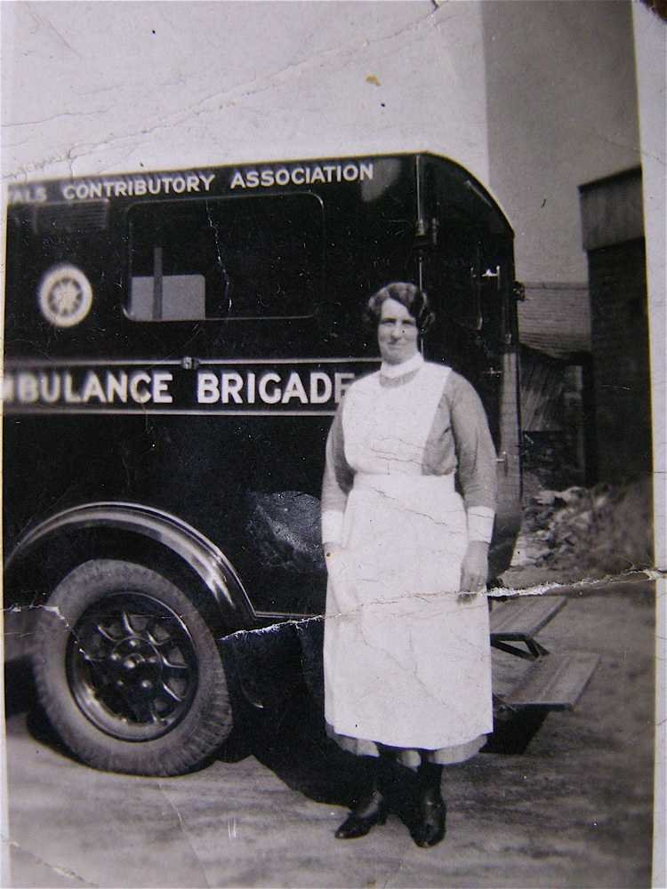 Margaret Darley and St Johns Ambulance Wife of Bernard Darley., undated, Europeana 1914-1918 / Merilyn Jones , In Copyright