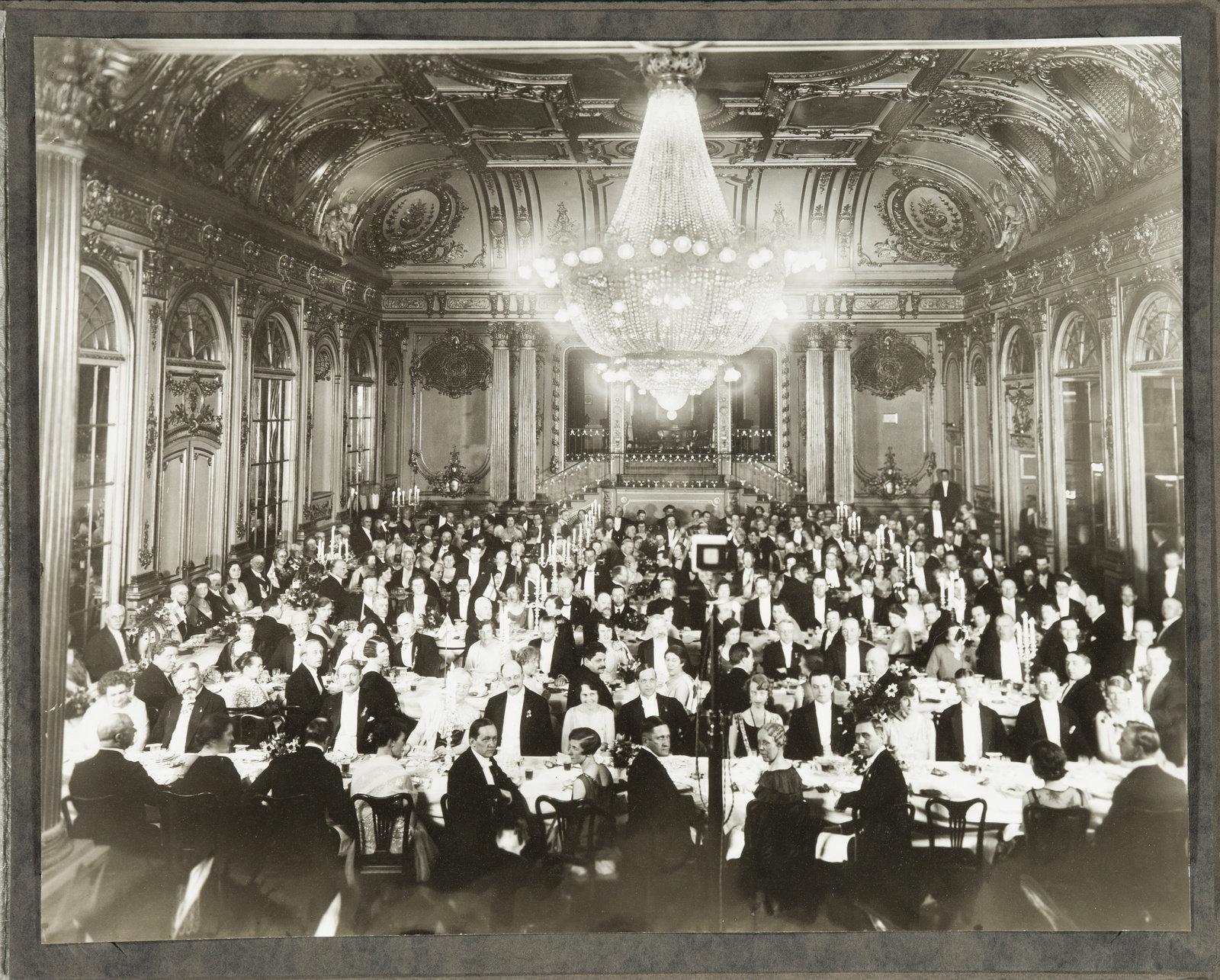A festive dinner, 1910s, , Hallwylska museet, Public Domain Mark