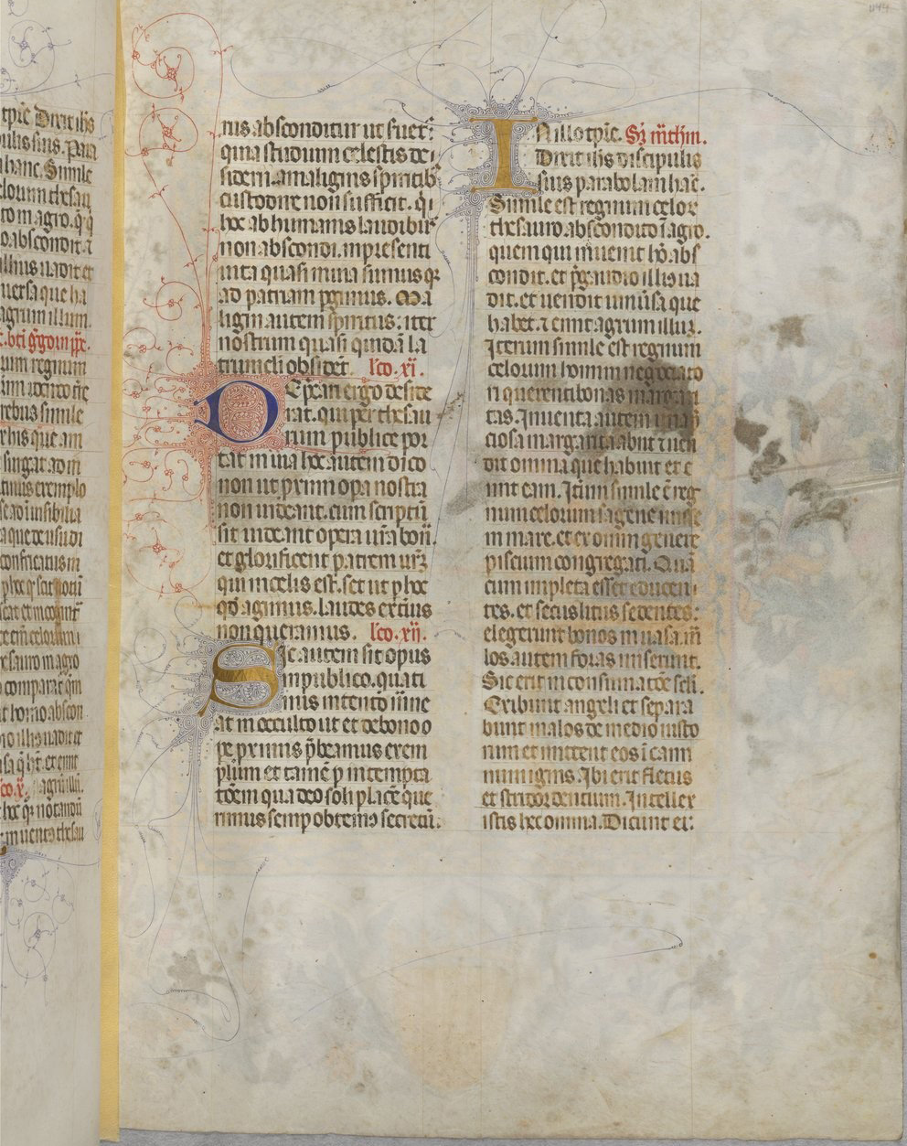 The Breviary of Martin of Aragon f889, Catalonia, between 1398 and 1410 and around 1420-1430, French National Library, Manuscripts, Rothschild 2529 Parchment, 454 ff., 350 x 252 mm. , In Copyright