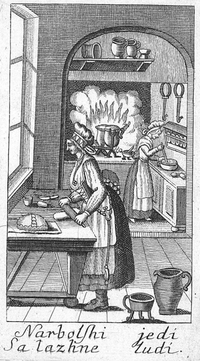 Kuharske bukve [Cookbook], 1799, Valentin Vodnik, National and University Library of Slovenia, In Copyright